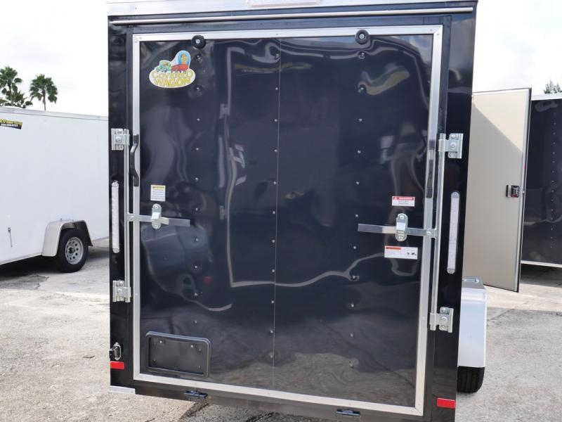 *107827* 6x12 Best Deals on an Enclosed Cargo Trailer | Haulers & Trailers 6 x 12