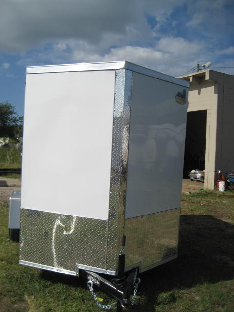 *E3B* 6x10 Enclosed Trailer Cargo L R  Lawn Trailers 6 x 10 | EV6-10S3-R