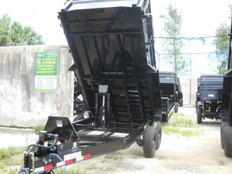 *DB19E* 7x14 Load Trail 7 TON Dump Trailer |Trailers & Dumps 7 x 14 | D83-14T7-24S