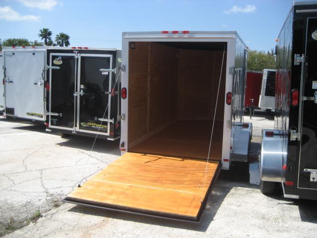 *E5* 6x12 Enclosed Trailer Cargo Tandem Axle Box 6 x 12 | EV6-12T3-R