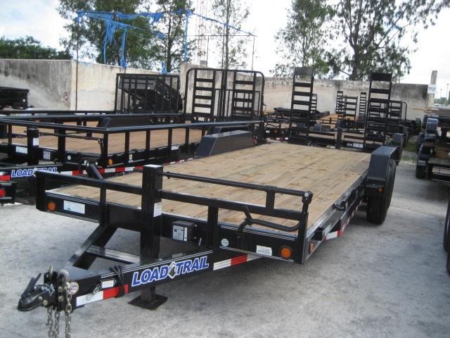 *EQ16* 7x22 7 TON Equipment & Car Hauler Trailer  LR Trailers 7 x 22   EQ83-22T7-KR