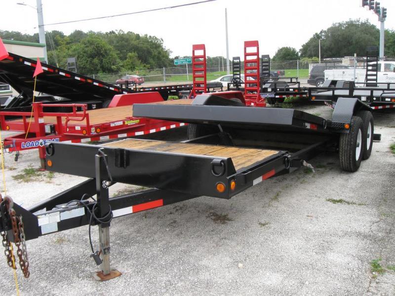 *103635* 7x16 USED Anderson Tilt Deck Trailer |LRT Tandem Axle Tilts & Trailers 7 x 16 | T82-16+4T7T-GT