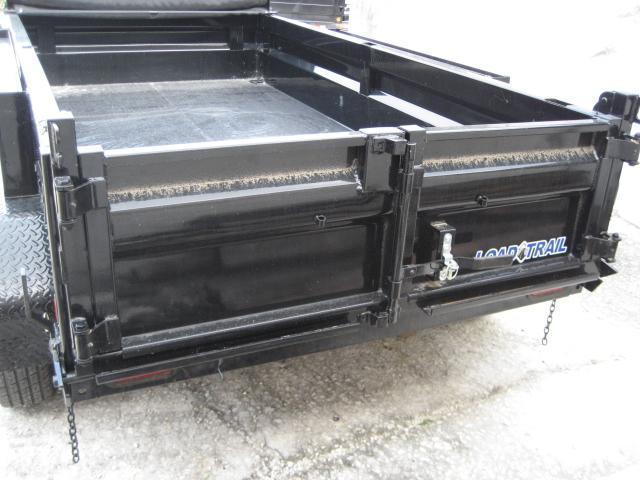 *DB10* 5x10 Load Trail 7K Dump Trailer Tandem Axle Trailers 5 x 10   D60-10T3-18S