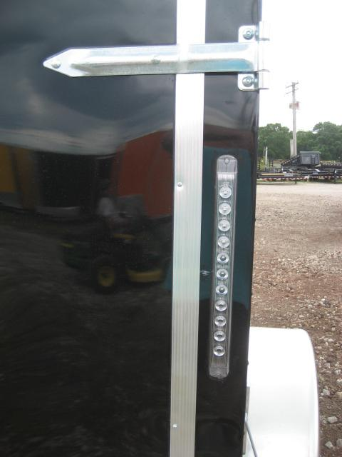 *E1* 5x8 Enclosed Trailer  LR Trailers Cargo 5 x 8 | EV5-8S3-R