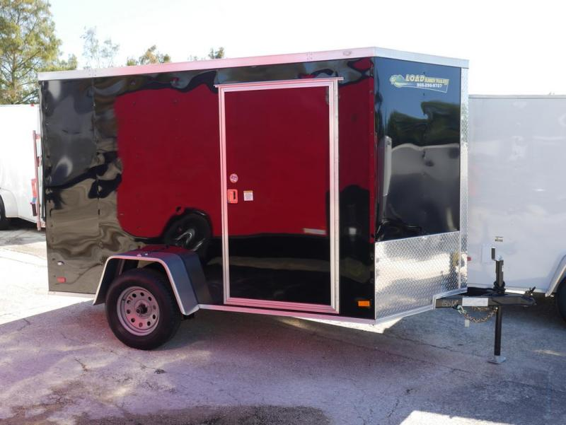 *E3E* 6x10 Enclosed Trailer | Cargo Trailers W/ Ramp 6 x 10 | EV6-10S3-R