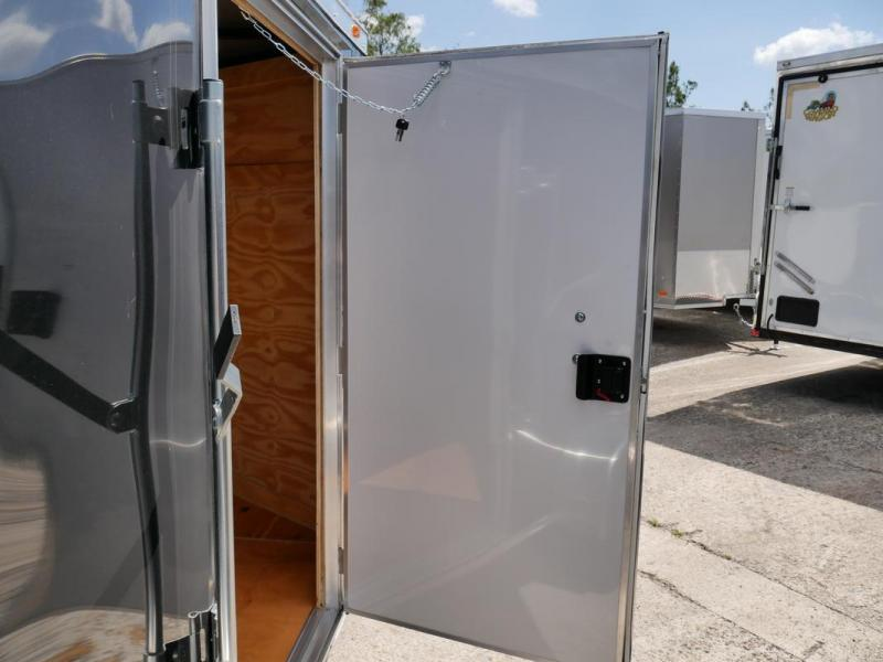 *106459* 5x10 Enclosed Trailer w/Barn Doors | Cargo Trailers 5 x 10 | EV5-10S3-DD