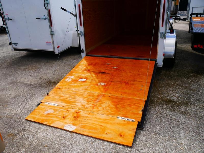 *E5-BB* 6x12 Enclosed Trailer Cargo L R Box Lawn Trailers 6 x 12   EV6-12T3-R