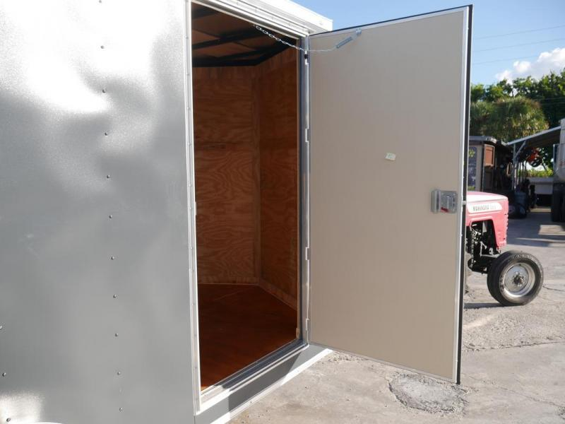 *108083* 7x14 Enclosed Cargo Trailer with TEXTURED SKIN | SCRATCH RESISTANT/HIDING 7 x 14