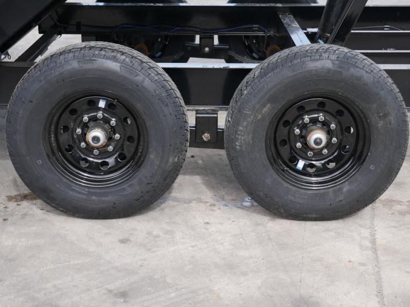 *108354* 7x14 LOAD TRAIL Dump Trailer |tandem Axle Trailers 7 x 14