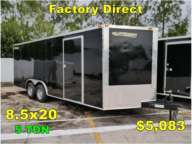 *FD41 TPA* 8.5x20 FACTORY DIRECT! Enclosed Cargo Trailer 8.5 x 20