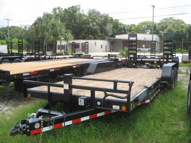 *EQ14* 7x20 7 TON Equipment & Car Hauler Trailer |LR Trailers 7 x 20 | EQ83-20T7-KR