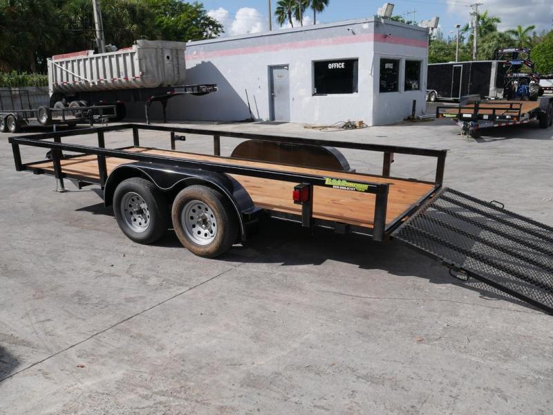 *107288* 6.5x16 Utility|Lawn|ATV|Multipurpose Trailer |LRT Tandem Axle Trailers 6.5 x 16