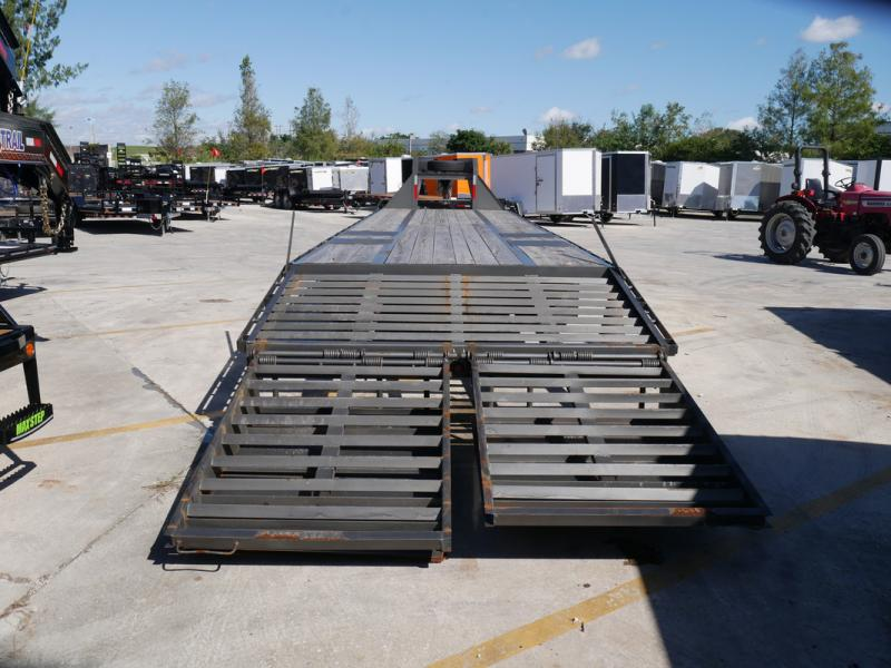 *107925* 8.5x36 Gooseneck Flatbed Deck Over Trailer |LRT Haulers & Trailers 8.5 x 36