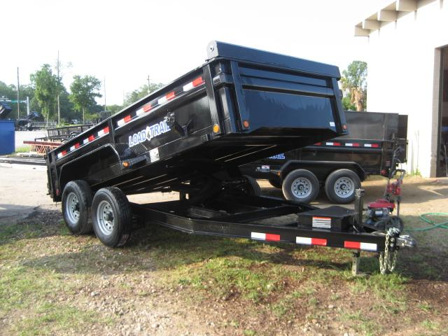 *DB23* 7x14 Dump Trailer | Trailers 7 TON Low Profile Load Trail 7 x 14 | D83-14T7-LP/24S