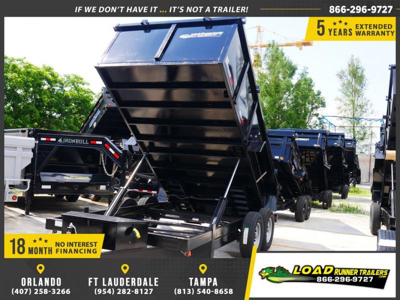 *DB56B* 7x14 14K Dump Trailer W/3' Sides Taylor Trailers 7 x 14 | D82-14T7-36S