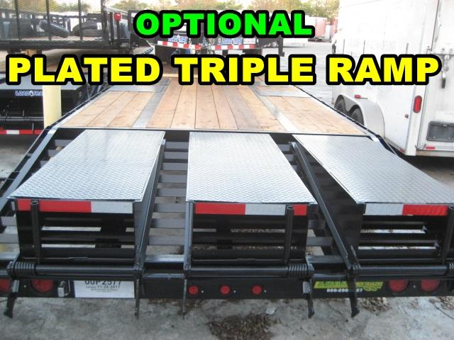 *FC38* 8.5x24 7 TON Flatbed Trailer Deck Over Trailers with Multipurpose Dove 8.5 x 24   FC102-24T7-FF