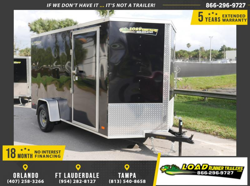 *108850* 6x12 Enclosed Cargo Trailer |LRT Haulers & Trailers 6 x 12
