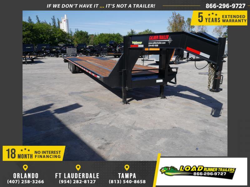 *107437* 8.5x40 Gooseneck Flatbed Deck Over Trailer |LRT Haulers & Trailers 8.5 x 40