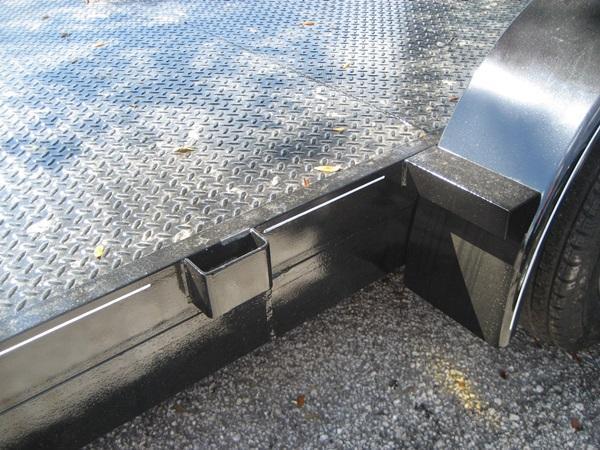 *CH13*  7K Steel Deck Car Hauler Trailer  LR Trailers & Haulers    CH82-18T3-1B-SD