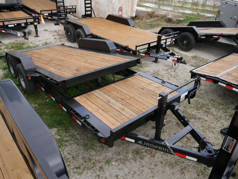 *104669* 7x16 7 TON Tilt Equipment Hauler Trailer | Heavy Duty 7 x 16 | T83-16+4T7T-LP/GT