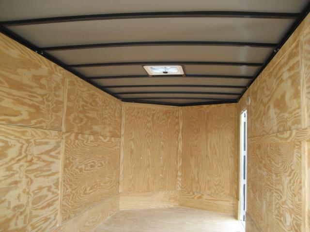 *E9B* 7x16 Enclosed Cargo Trailer Tandem Axle Hauler 7 x 16 | EV7-16T3-DD