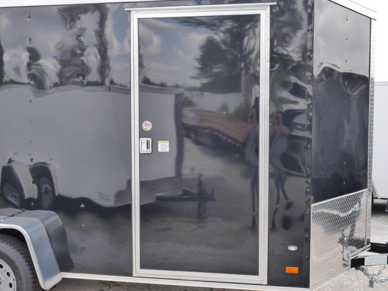 *107827* 6x12 Enclosed Cargo Trailer |LRT Haulers & Trailers 6 x 12 | EV6-12S3-R