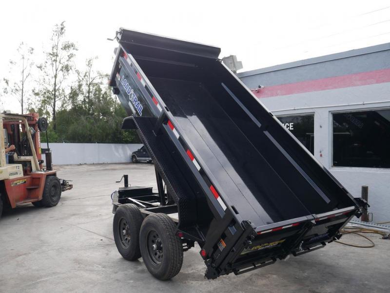 *107960* 6x12 5 TON Load Trail Dump Trailer |LRT Tandem Axle Trailers 6 x 12