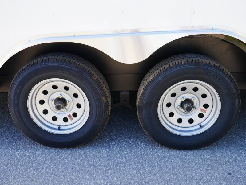 *E10-BB* 8.5x16 ENCLOSED CARGO TRAILER |LR Car Hauler Trailers 8.5 x 16 | EV8.5-16T3-R