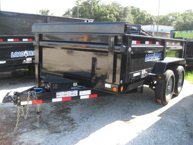 *DB15* 6x12 5k Load Trail Dump Trailer Tandem Axle Trailers 6 x 12 | D72-12T5-24S