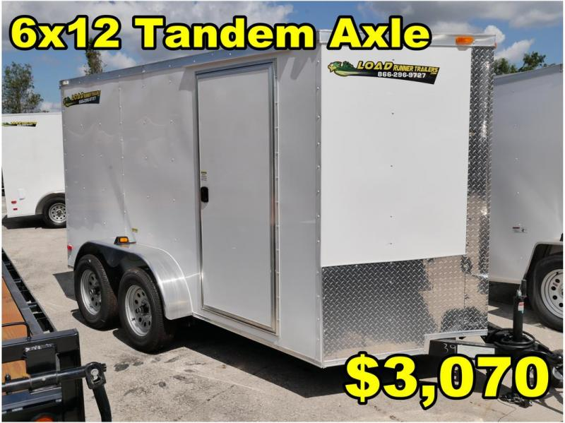 *FD14 ORL* 6x12 FACTORY DIRECT!| Enclosed Cargo Trailer |Trailers 6 x 12
