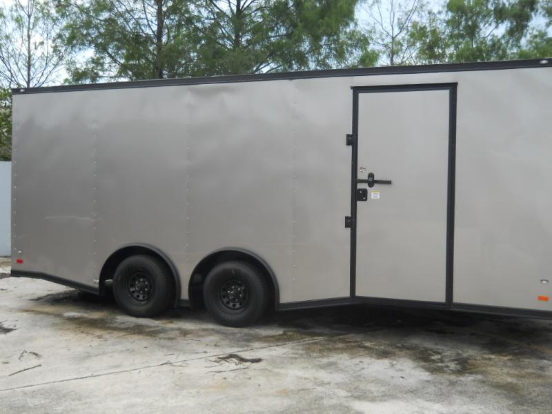 *E11B* 8.5x20 Hauler Enclosed Trailer TRAILERS Cargo 8.5 x 20 | EV8.5-20T5-R