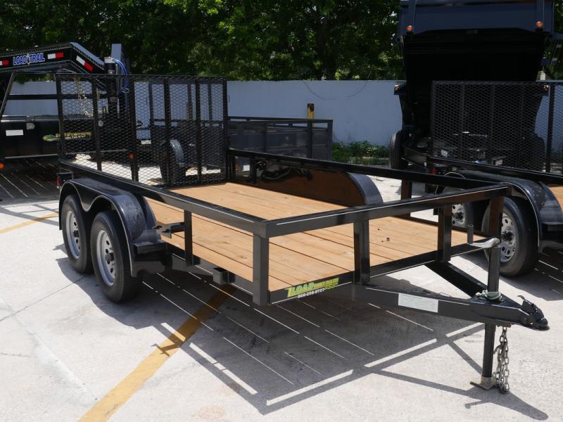 *U46* 6x12 Utility Trailer Tandem 3500 lb Axles 6 x 12 | U76-12T3-0B-TR