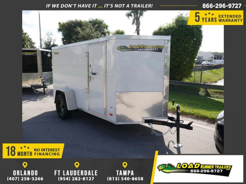 *108312* 5x10 Enclosed Cargo Trailer |LRT Haulers & Trailers 5 x 10