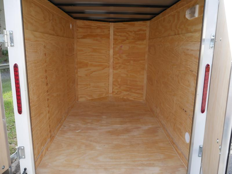 *E1F* 5x8 Enclosed Trailer  LR Trailers Cargo 5 x 8 | EV5-8S3-R