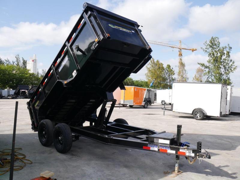 *108341* 6x14 LOAD TRAIL Dump Trailer |LRT Trailers 6 x 14