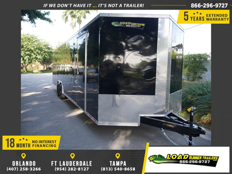 *108412* 8.5x30 Enclosed Cargo Trailer |LRT Tandem Axle Trailers 8.5 x 30