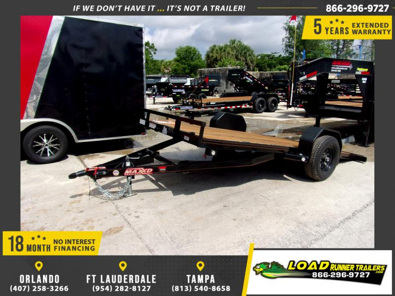 *106773* 6.5x14 Tilt Deck Trailer |LRT Tandem Axle Trailers 6.5 x 14
