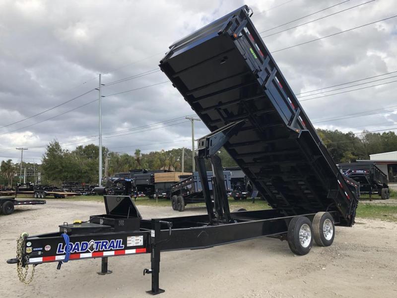 *107944* 7x20 10 TON Dump Trailer  LRT Dumps & Trailers 7 x 20