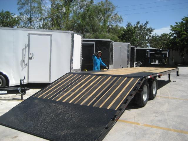 *FG59* 8.5x32 Flatbed Gooseneck Trailer 10 Ton|Hydraulic Dove Trailers 8.5 x 32 | FG102-32T10-LP/HYD