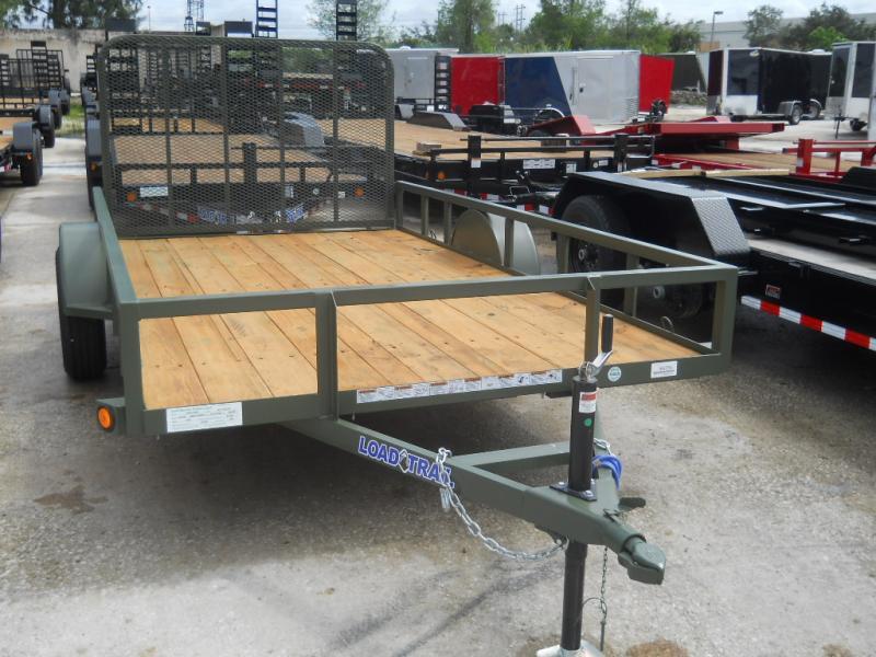 *U75* 6x12 Utility Trailer Lawn Load Runner Trailers 6 x 12 | U77-12S3-AR