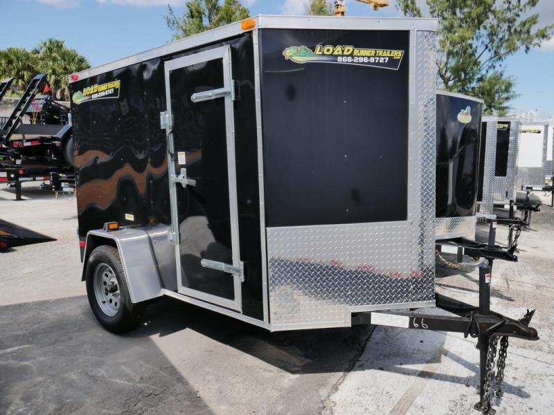 *107348* 5x8 Enclosed Cargo Trailer |LRT Haulers & Trailers 5 x 8 | EV5-8S3-DD