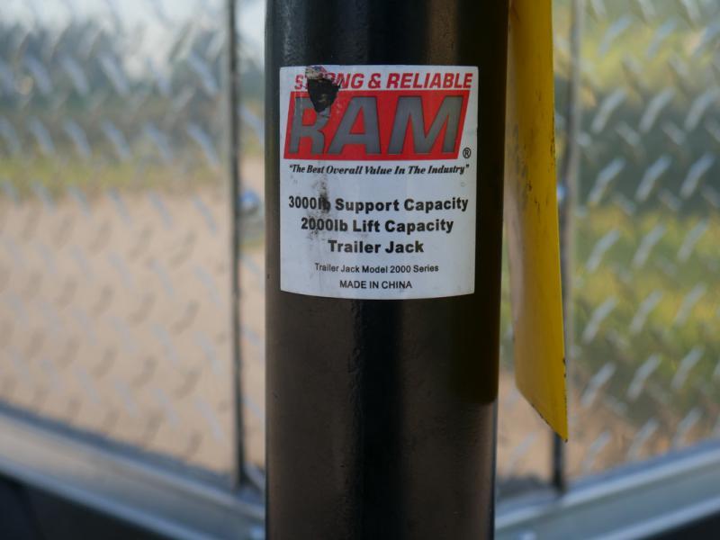 *107746* 5x8 Enclosed Cargo Trailer |LRT Haulers & Trailers 5 x 8