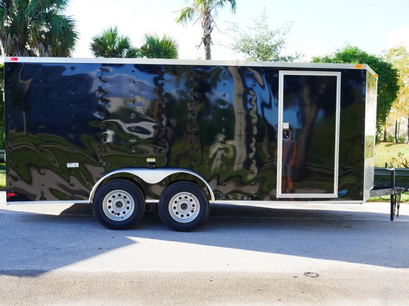 *FD09* 7x16 FACTORY DIRECT!  Enclosed Cargo Trailer  Trailers 7 x 16