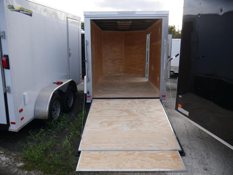 *107909* 6x12 Enclosed Cargo Trailer |LRT Haulers & Trailers 6 x 12