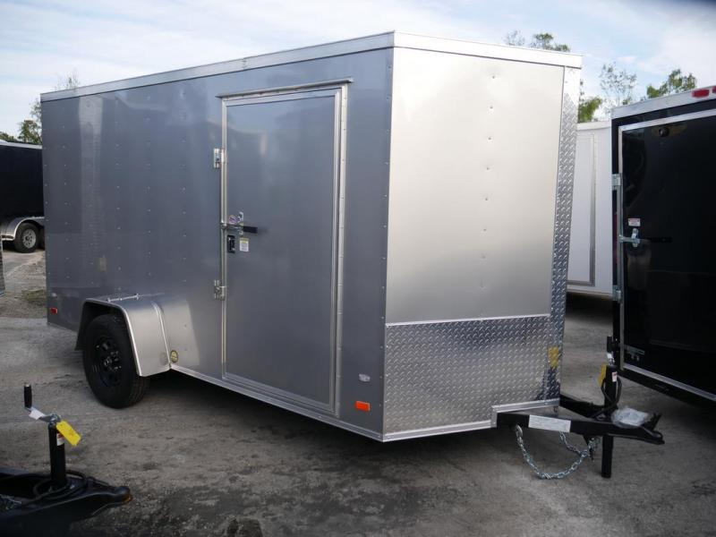 *107909* 6x12 Enclosed Cargo Trailer |LRT Haulers & Trailers 6 x 12