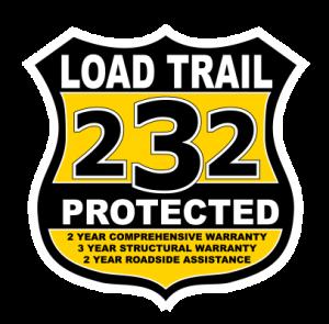 *106806* 7x14 Load Trail Dump Trailer  LRT Tandem Axle Trailers 7 x 14   D83-14T7-24S