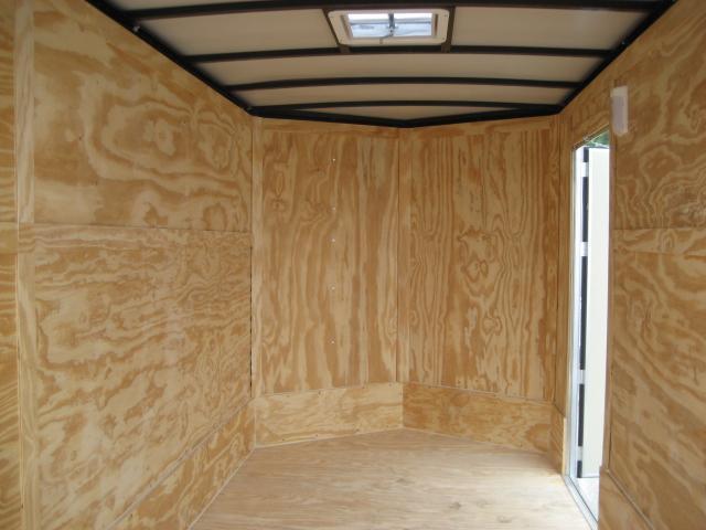 *E4F* 6x12 Enclosed Cargo Trailer Construction Trailers 6 x 12 | EV6-12S3-R