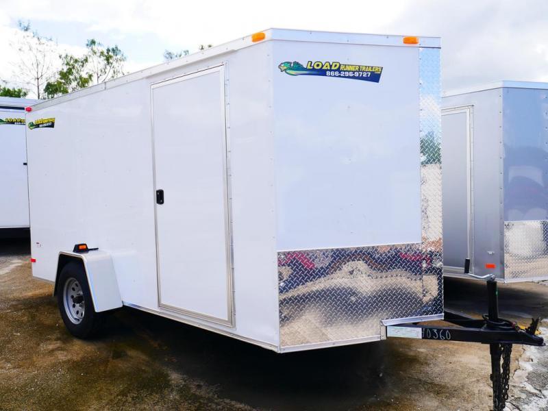 *E4-BB* 6x12 Enclosed Trailer Cargo L R Box Lawn Trailers 6 x 12   EV6-12S3-R
