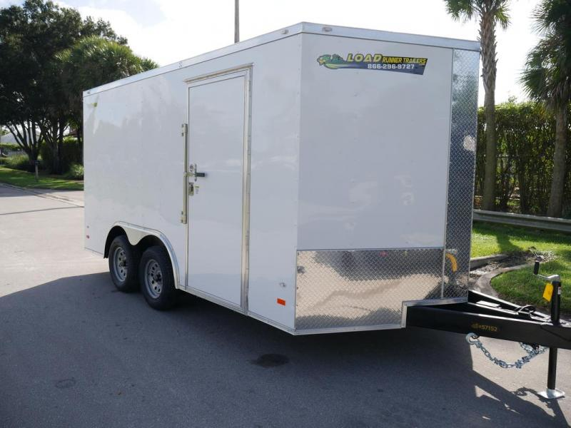 *108309* 8.5x14 Enclosed Cargo Trailer |LRT Tandem Axle Trailers 8.5 x 14