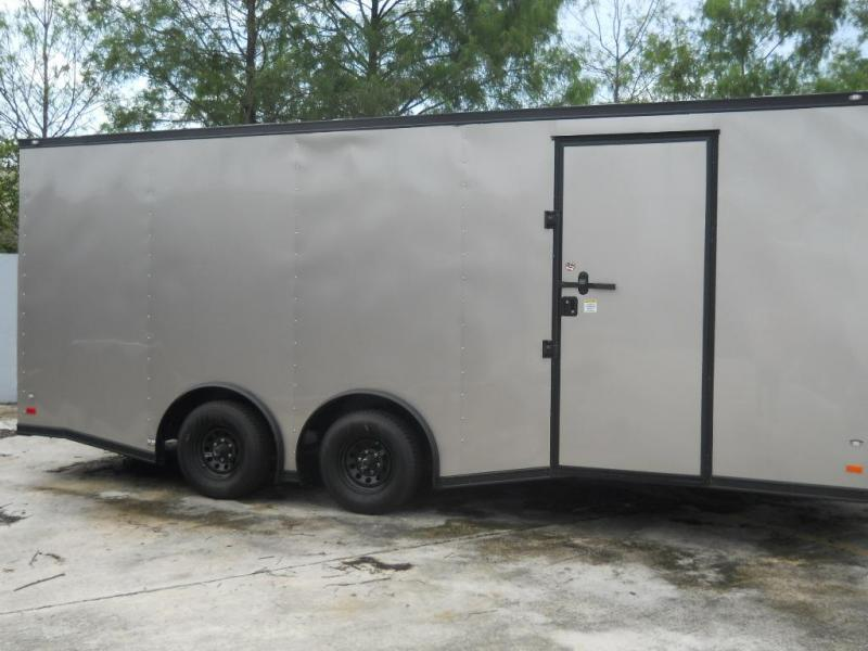 *E11B* 8.5x20 Hauler Enclosed Trailer TRAILERS Cargo 8.5 x 20 | EV8.5-20T5-R